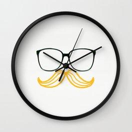 Spectacular Mustache Wall Clock