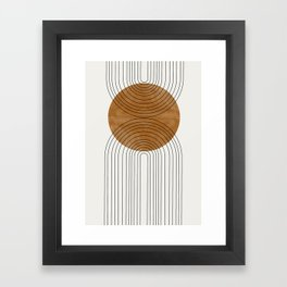 Abstract Flow Framed Art Print