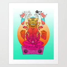 Killamari Yo Art Print