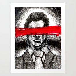 Mask Of Sanity Art Print
