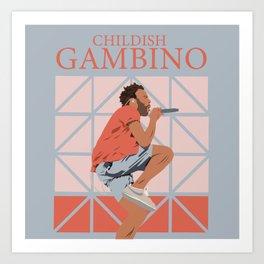 Childish Gambino Kunstdrucke