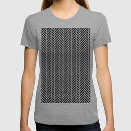 Herringbone Black Inverse T-shirt