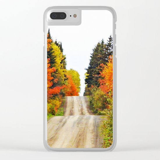 Nature's Secret Highway Clear iPhone Case
