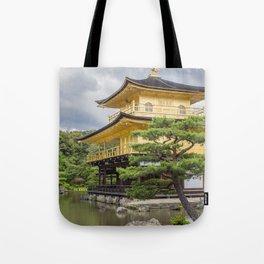 Japan Golden Pagoda Tote Bag
