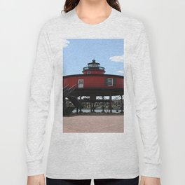 Seven Foot Knoll Lighthouse Long Sleeve T-shirt