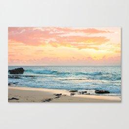 Honolulu Snrse Canvas Print