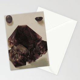 Natural History Amethyst Stationery Cards