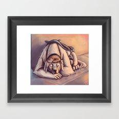 Naga & Pabu Framed Art Print