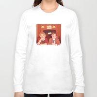 bar Long Sleeve T-shirts featuring bar by Lauren Steele