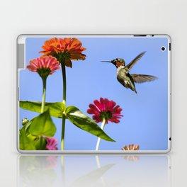 Hummingbird Happiness Laptop & iPad Skin
