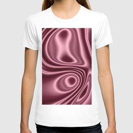 Pink Silk T-shirt