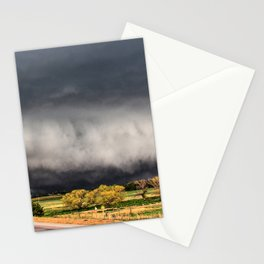 Tornado Day - Storm Touches Down in Northwest Oklahoma Stationery Cards