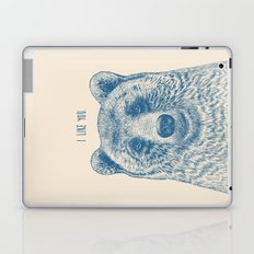 Bear (Ivory) Laptop & iPad Skin