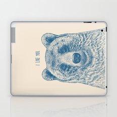 Bear (Ivory) Laptop & iPad Skin