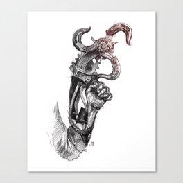 Sky-Hook Canvas Print