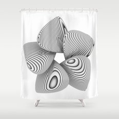 Bio Flower Art Print Shower Curtain