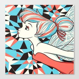 Tinker bell Canvas Print