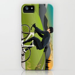 Road Cyclist iPhone Case