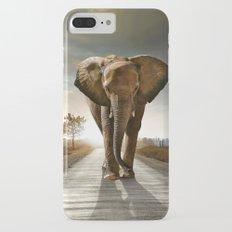 Lonely Elephant iPhone 7 Plus Slim Case