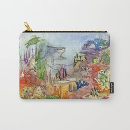 Coral Reef Carry-All Pouch
