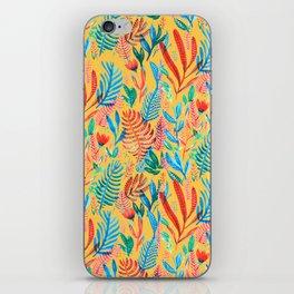 yellow tropical nature iPhone Skin