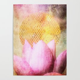 Lotus Sun Poster
