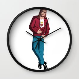 Live fast, die young Wall Clock