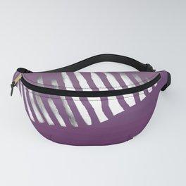 Purple Zebra Fanny Pack