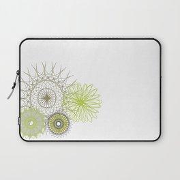 Modern Spiro Art #4 Laptop Sleeve