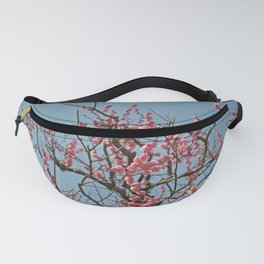 Japanese Plum Blossoms Fanny Pack