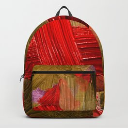 31   | Abstract Expressionism| 210210| Digital Abstract Art Textured Oil Painting Backpack
