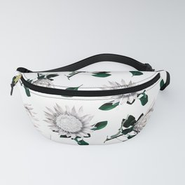 Protea Floral Pattern Fanny Pack