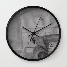 A House is Not a Home Wall Clock