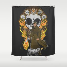 First Storm Shower Curtain