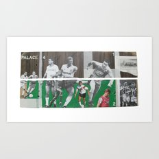 A Game Of 2 Halves Art Print