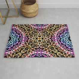 Floral Wrought Iron G80 Rug