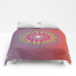 Dot Mandala Comforters