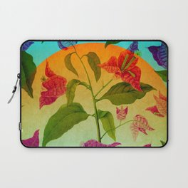 Bright Botanical Laptop Sleeve