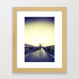 What Lies Ahead Framed Art Print