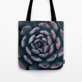 Frosted Succulent Tote Bag
