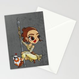 Rey The Force Awakens Stationery Cards