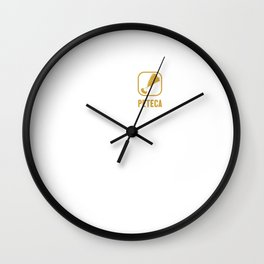 Eat Sleep Peteca Repeat Peteca Game Peteca Peteca Ball Wall Clock