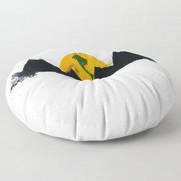 White Peak Floor Pillow