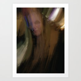 Human in Motion Art Print