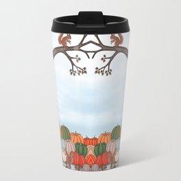 heirloom pumpkins, squirrels, & the oak tree Travel Mug