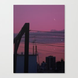 Rooftop thoughts Canvas Print