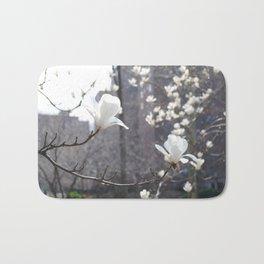 White Magnolia Bath Mat