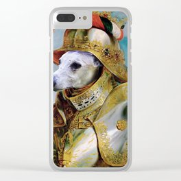 Portrait of Lord Whippet Quick Clear iPhone Case