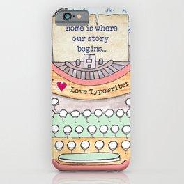 Typewriter #7 iPhone Case