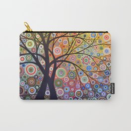 Abstract Art Landscape Original Painting ... Magic Garden Carry-All Pouch